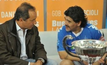 Maradona respaldó a Scioli y Zannini Este domingo estoy con ustedes