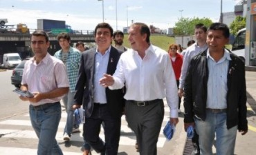 Fernando Espinoza respaldo la candidatura de Sergio Szposlki en Don Torcuato