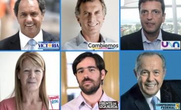 Los seis candidatos presidenciales cierran sus campañas de cara al domingo