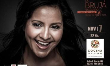 La bruja Salguero presenta su séptimo disco en Córdoba