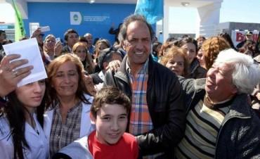 """Scioli: """"El antimacrismo es muy fuerte en todo el país"""""""