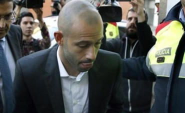 Mascherano admitió que evadió 1,5 millones de euros