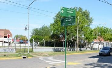 Tigre renueva la señalética vial en todo el distrito