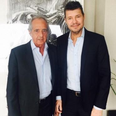 Acuerdo entre D'Onofrio y Tinelli para cambiar la AFA