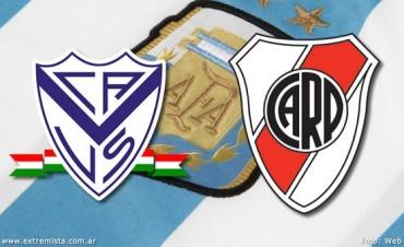 River busca su mejor fútbol frente a Vélez en Liniers en VIVO por La Folk Argentina
