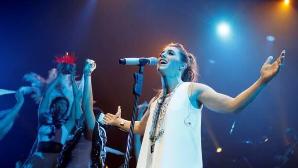 La Sole festejo los 20 de su carrera en el Luna Park