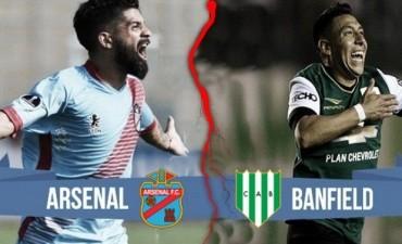 Banfield Arsenal partido de la jornada 4 de la Superliga argentina 19 Hs en VIVO por NEXO 104.9 Fm y La Folk Argentina