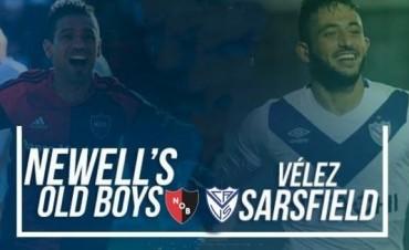 Vélez Sarsfield vs Newell's Old Boys 18 Hs en VIVO por NEXO 104.9 Fm y La Folk Argentina