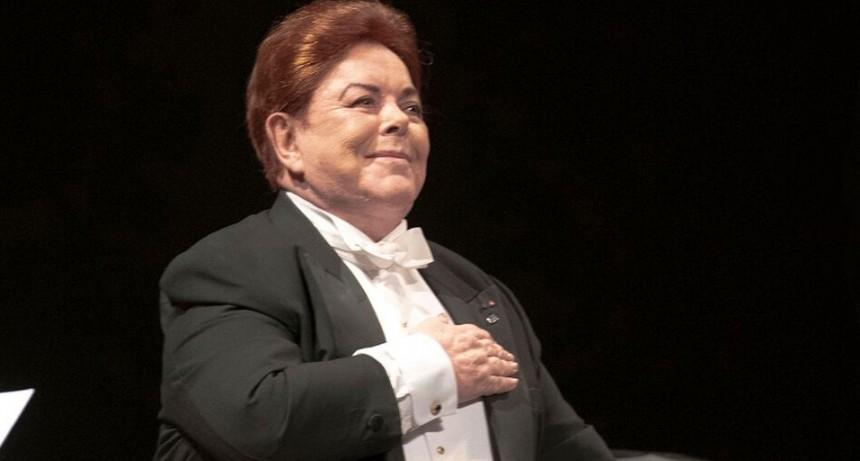 La Banda Sinfónica Nacional de Ciegos, en concierto,  junto al Mtro. Bruno Gelber.