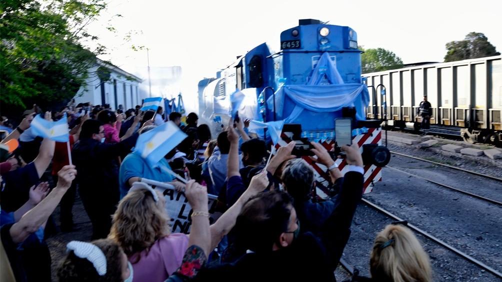 El tren sanitario de Nación llegó a Mendoza, donde visitará distintas localidades