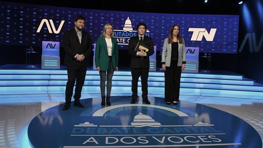 Tenso debate entre los candidatos a diputados de la Ciudad de Buenos Aires