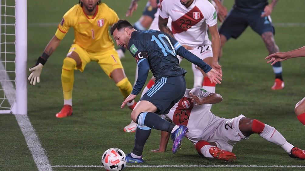 Lautaro Martínez se destacó con el gol del triunfo en una noche sin el brillo de Messi