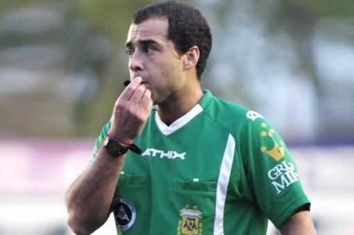 La AFA suspendió por tiempo indeterminado a Ceballos tras su pésimo arbitraje
