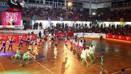 Multitudinaria Gala de cierre de la Escuela Municipal de Patín en Tigre