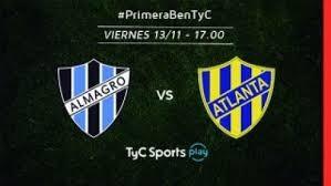 Atlanta vs Almagro por la primera B Metropolitana en VIVO por La Folk Argentina