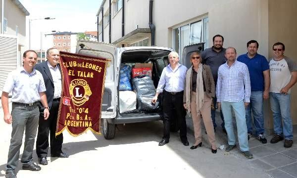 Tigre y el Club de Leones de El Talar juntos en una nueva movida solidaria