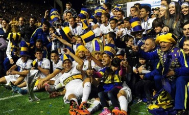 Tras cuatro años sin títulos Boca salió campeón
