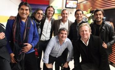 Los Alonsitos graban su próximo disco junto a Los Nocheros en Salta