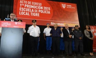 Egresaron los efectivos de la Policía Local de Tigre