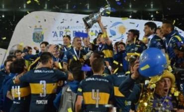 Boca sigue de festejo y se consagró campeón de la Copa Argentina