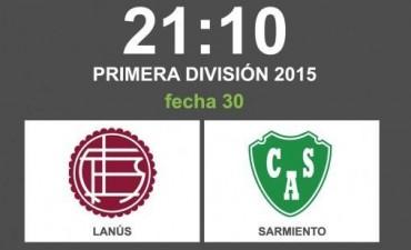 Lanús y Sarmiento abren la última fecha del torneo de 30 equipos en VIVO por La Folk Argentina