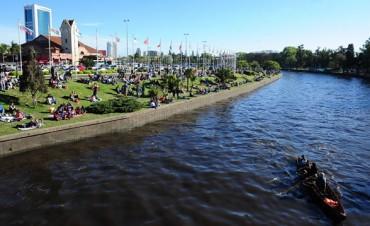 Sábado con buen tiempo y una temperatura máxima de 28° en la ciudad de Tigre y alrededores
