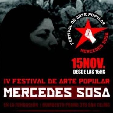 La IV edición del Festival de Arte Popular Mercedes Sosa tiene por objetivo impulsar nuevos artistas