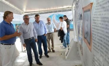 Se exhibió en Tigre una gran expo científica sobre la Antártida