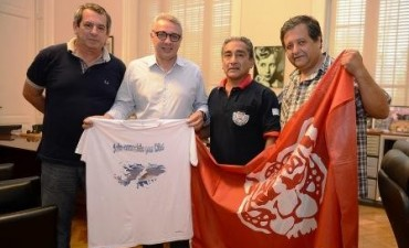 Tigre apoyó la filmación de un documental sobre ex combatientes de Malvinas