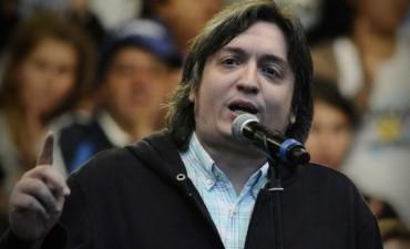Máximo Kirchner sigue internado bajo evaluación y tratamiento especifico