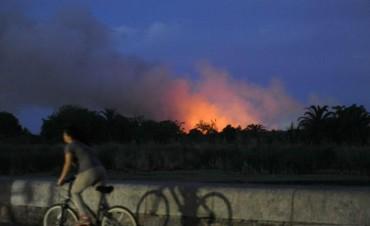 Un nuevo incendio afectó un sector de la Reserva Ecológica porteña