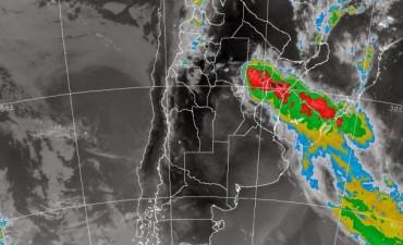 Lluvias tormentas aisladas y descenso de la temperatura en Tigre y alrededores