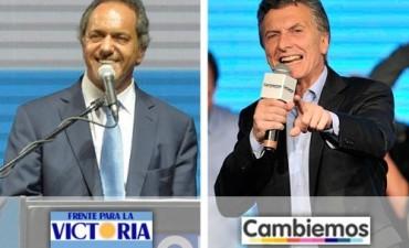 Scioli y Macri cierran sus campañas electorales de cara al balotaje