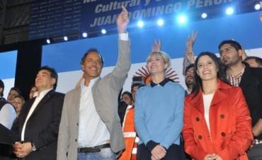 Scioli cerró en La Matanza y afirmó que va a representar la defensa del trabajo del salario y la familia