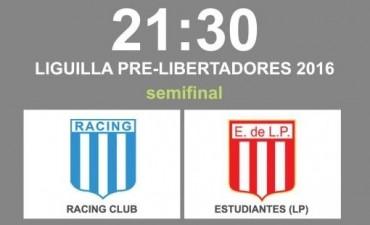 Racing y Estudiantes juegan por la Liguilla pre Libertadores en VIVO por La Folk Argentina