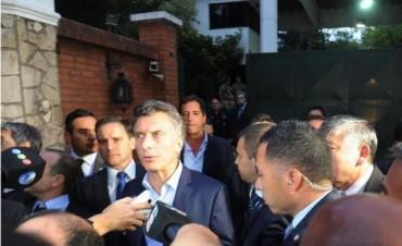 Cristina y Macri se reunieron en Olivos en un encuentro de cara a la transición