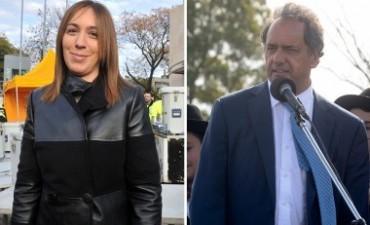Scioli y Vidal se reúnen en la Casa de Gobierno bonaerense por la transición