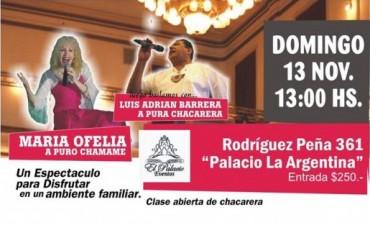 """María Ofelia y Luis Adrian Barrera Presentan su Show """"Chacarera y Chamamé"""" con la transmisión en VIVO de La Folk Argentina"""