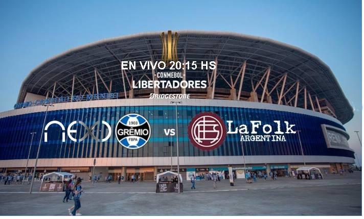 Gremio-Lanús en VIVO: desde las 20:15 Hs Final Copa Libertadores 2017 por NEXO 104.9 Mhz y La Folk Argentina