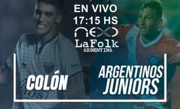 Argentinos vs Colón – Superliga 2017-2018 en VIVO 17:05 Hs por NEXO 104.9 Mhz y La Folk Argentina