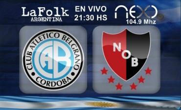 Newell´s intentará dar vuelta su flojo presente ante Belgrano 21:30 Hs en VIVO por NEXO 104.9 Mhz y La Folk Argentina