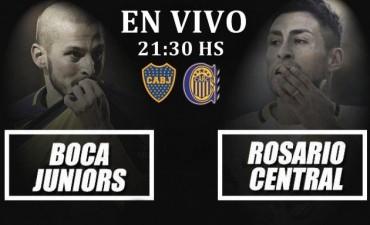 Boca vs Rosario Central: en VIVO desde el Gigante de Arroyito 21:30 Hs por NEXO 104.9 Mhz y La Folk Argentina