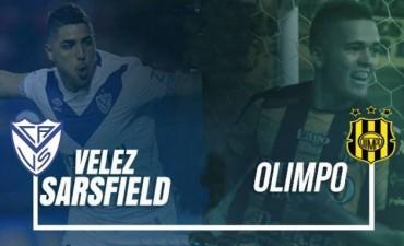 Vélez vs Olimpo en VIVO por la Superliga 19:00 Hs por NEXO 104.9 Mhz y La Folk Argentina