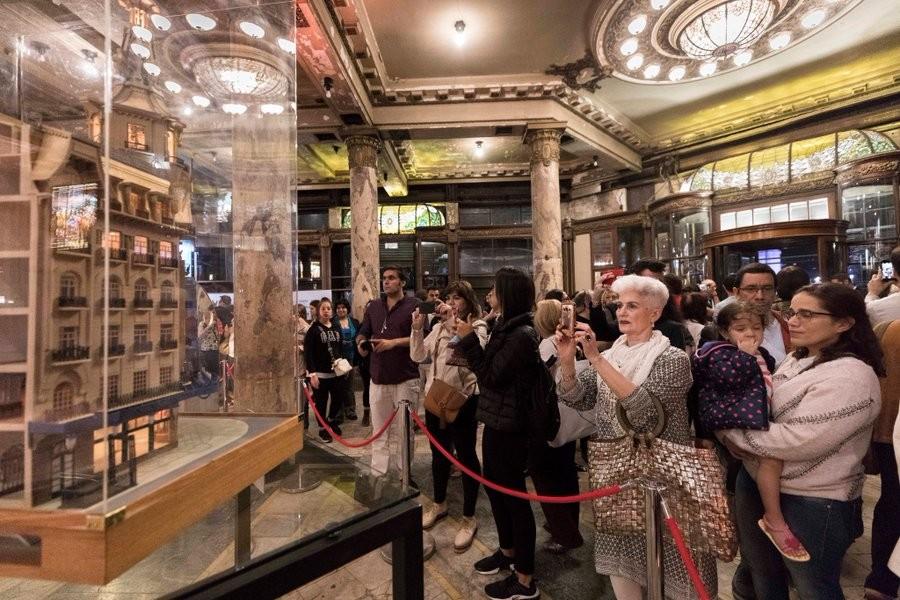 Más de 10.000 personas recorrieron el Edificio del Molino durante La Noche de los Museos