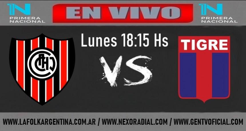 Chacarita recibe a Tigre en un duelo con clima de clásico, EN VIVO por La Folk Argentina