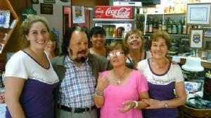 El cantor Horacio Guarany visitó