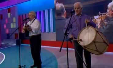 Un salteño se lució en la televisión española