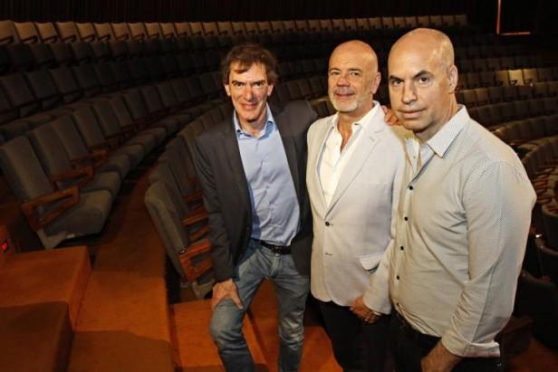 Larreta confirmó a Telerman como director del complejo teatral Buenos Aires