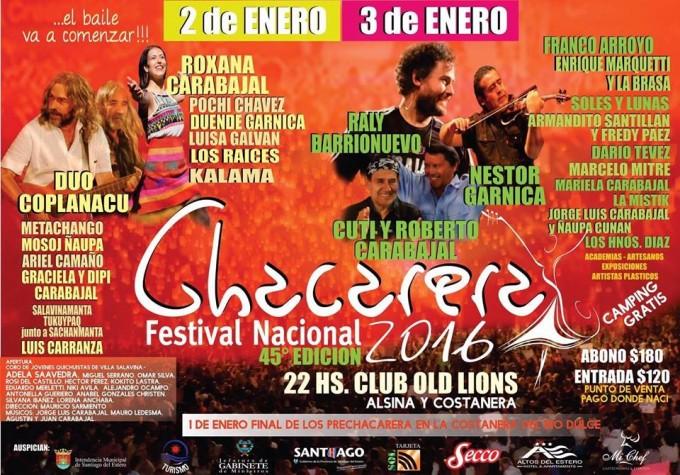 El Festival de la Chacarera comenzará a sentirse a orillas del río Dulce en Santiago del Estero