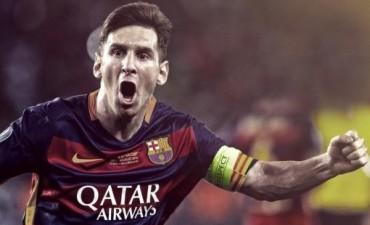 Messi fue elegido como el mejor jugador de la Liga Española de fútbol